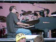 Bruce Hornsby on our stage.... The west stage.